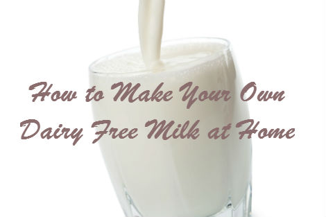 Drink Non Dairy Milk Recipes
